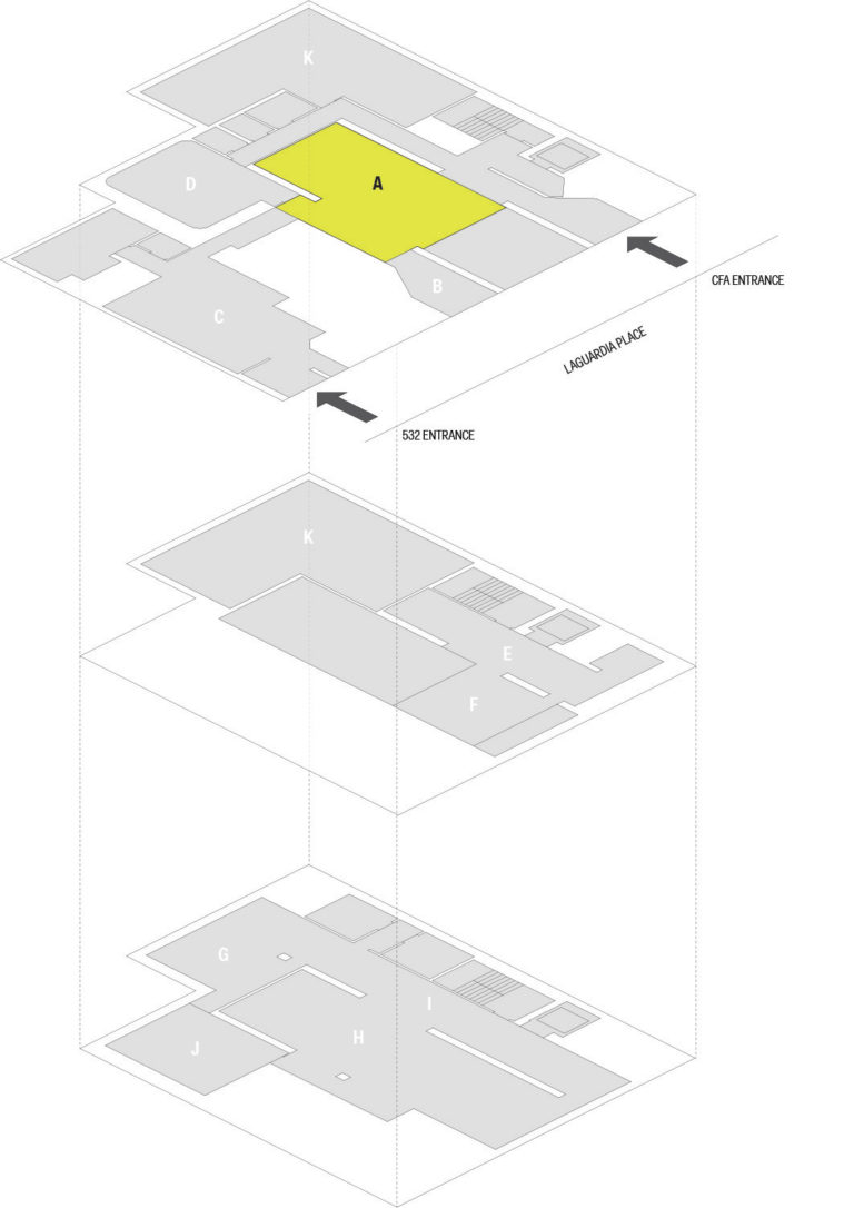 Map A Gerald D. Hines Gallery